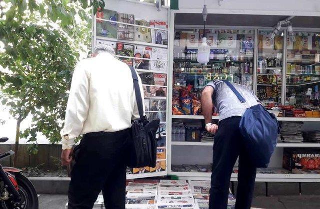تیراژ روزنامه های کشور به روایت دکه داران
