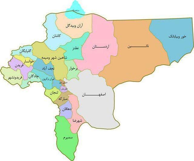 تصویب کلیات طرح تشکیل استان اصفهان شمالی در کمیسیون امور داخلی کشور