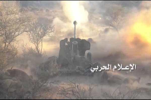 هلاکت شماری از مزدوران سعودی در عملیات توپخانه ای ارتش یمن