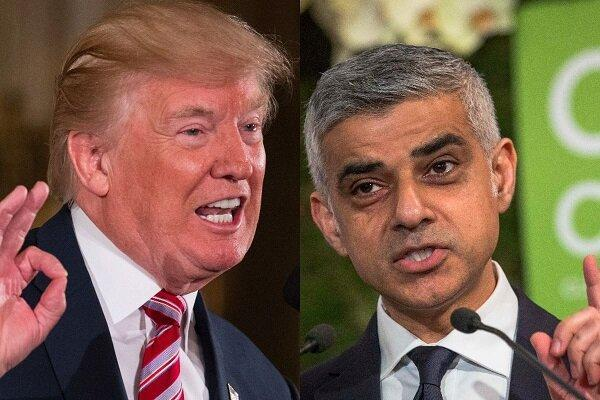 صادق خان: نباید برای ترامپ فرش قرمز پهن کنیم