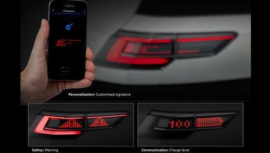 فناوری جدید چراغ های واکنشی فولکس واگن!