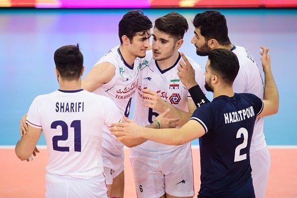 جوانان والیبالیست ایران با شکست برزیل فینالیست شدند
