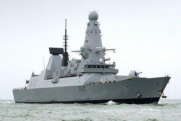 توضیحات وزیر دفاع انگلیس درباره مأموریت ناوشکن دانکن