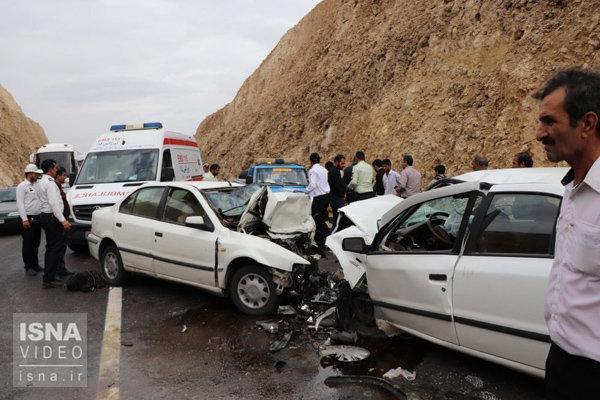 کاهش 95 درصدی حوادث ترافیکی با ایمن سازی راه های مواصلاتی